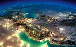 عکس ماهواره ای کم نظیر از ایران